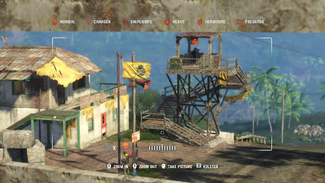 Screenshot of a base in Far Cry 3