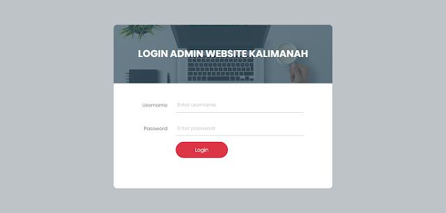 PHP Portal Informasi Kecamatan Berbasis Web dengan CI