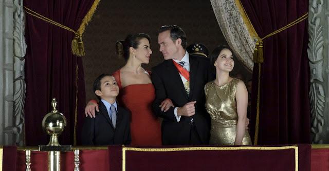 Netflix presenta a la familia presidencial de 'Ingobernable'