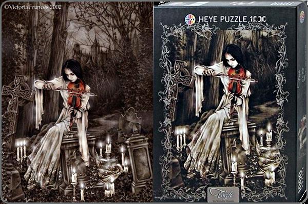 Heye violin 1000 puzzle -victoria frances