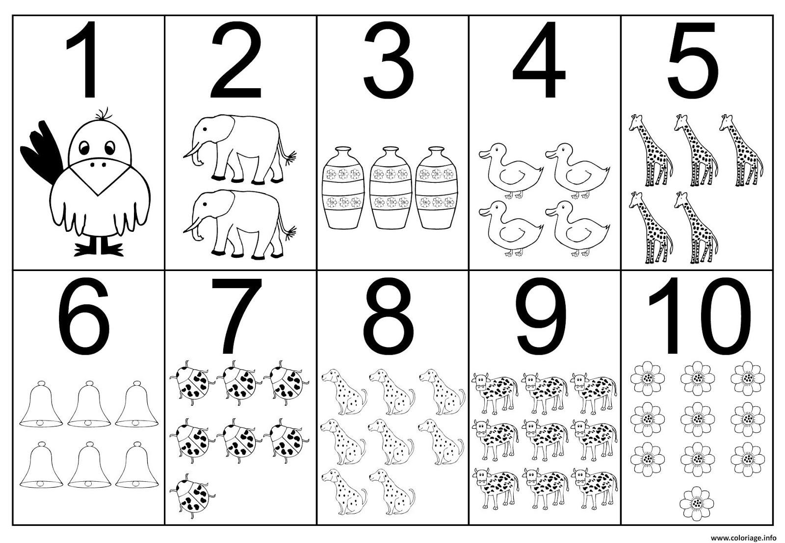 Fiches De Maternelle Compter Avec Des Exercices Simples A Imprimer