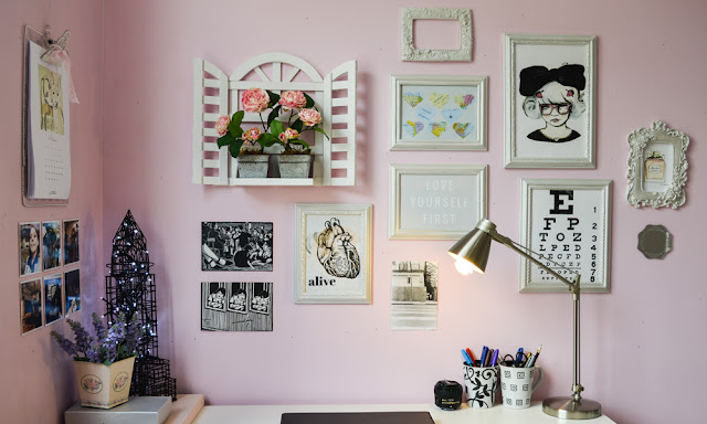 home office criativo feminino