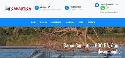 Novo Site da Canautica