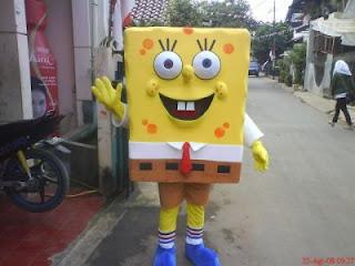 Badut Sponge Bob
