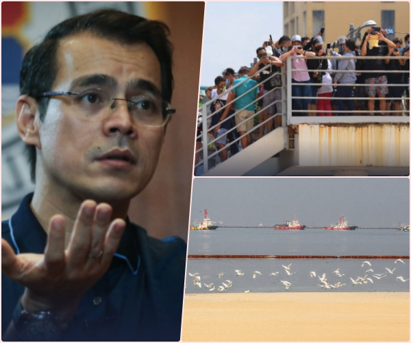 Mayor Isko Moreno discourages public from visiting Manila Bay White Sand due to covįd threat
