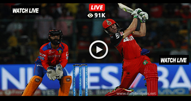 IPL 2018 RCB vs SRH Live Streaming Online Cricket Scores