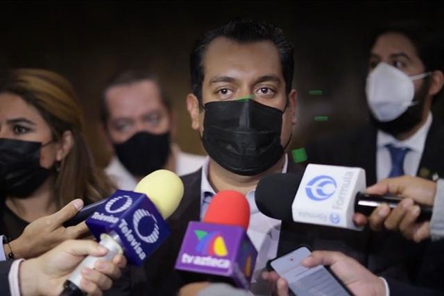 No se reportan víctimas ni daños en la infraestructura de San Lázaro por sismo: Gutiérrez Luna