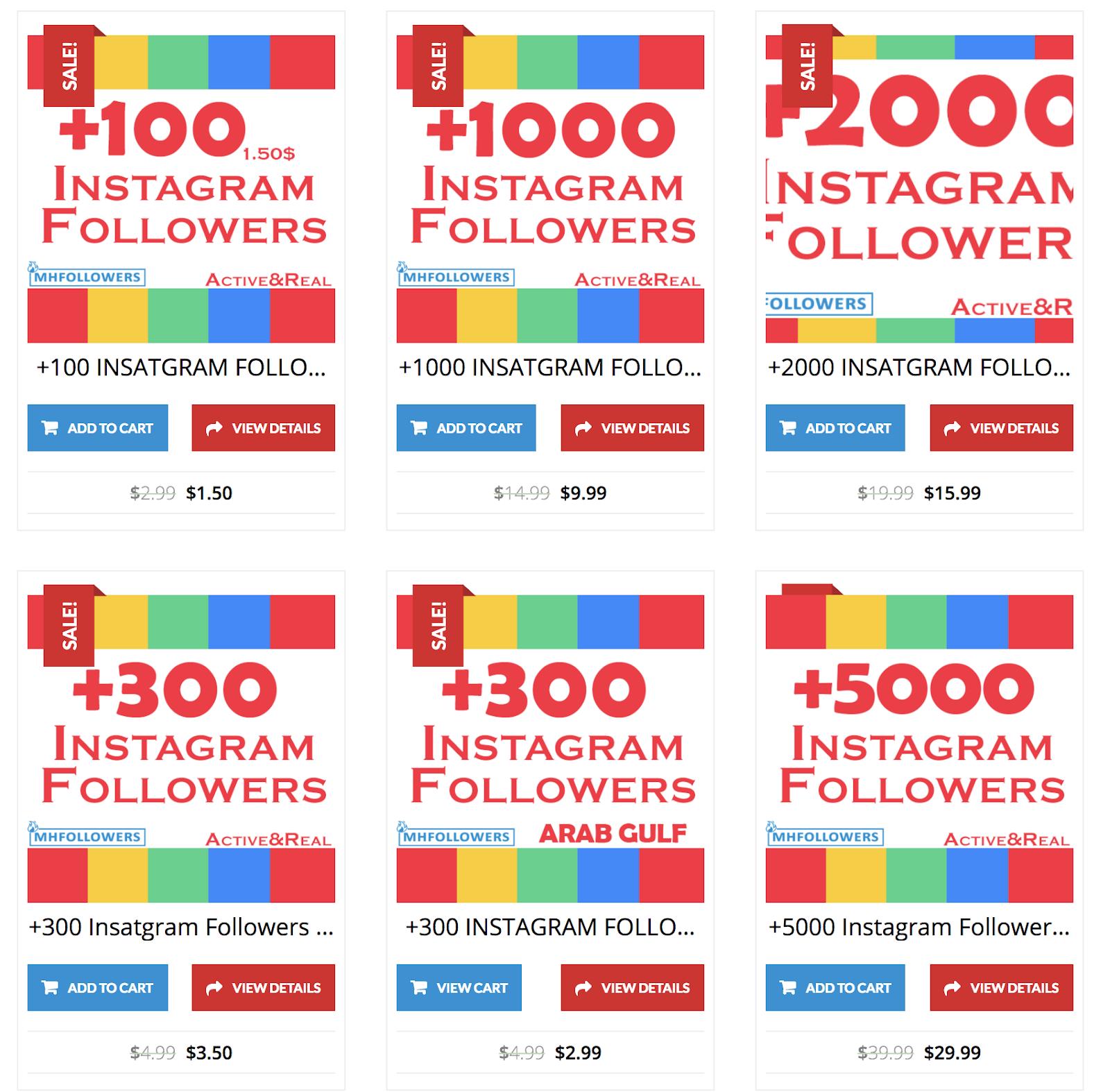 موقع موثوق يمنحك متابعين حقيقين لصفحاتك فيسبوك و انستغرام بالمجان
