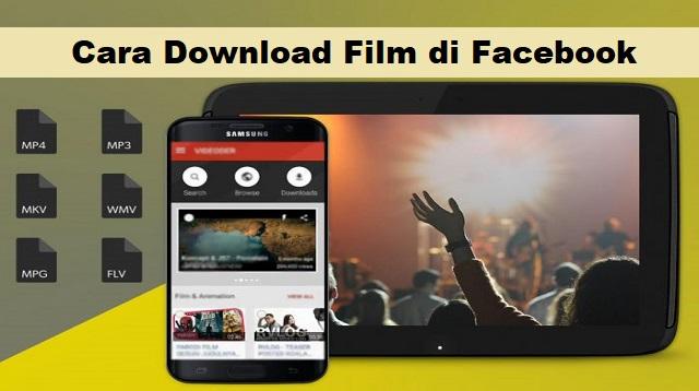 Cara Download Film di Facebook