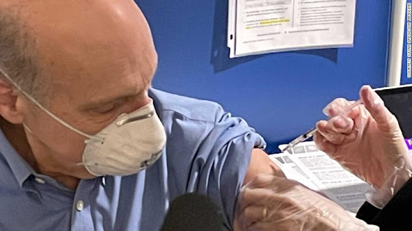 Dr. Darrell Salk received the Covid-19 vaccine Monday and he hopes others will.
