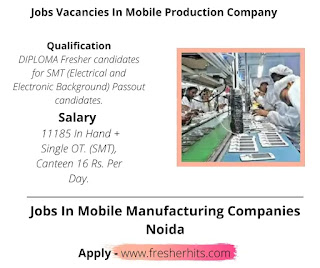 Jobs Vacancies In Mobile Production Company