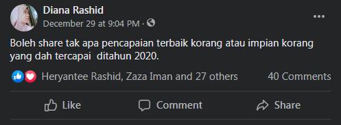 NETIZEN KONSI PENCAPAIAN TERBAIK SEPANJANG 2020