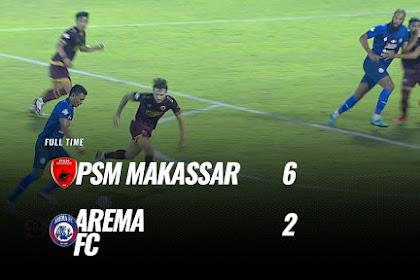 Motivasi Dan Berkat Kerja Keras Menjadi Kemenangan PSM Makassar Atas Arema FC