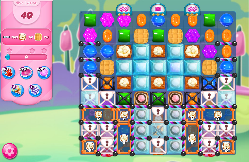 Candy Crush Saga level 8114