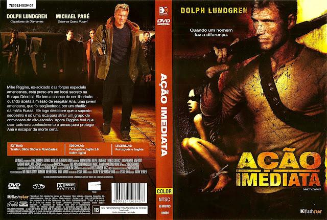 Capa DVD Ação Imediata