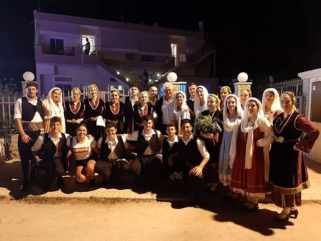 """Ο Σύλλογος """"Ελληνική Παράδοση"""" στο 6ο Φεστιβάλ Παραδοσιακών Χορών στην Αλμυρή Κορινθίας"""