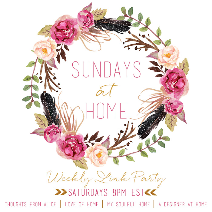 Sundays at Home Link Party
