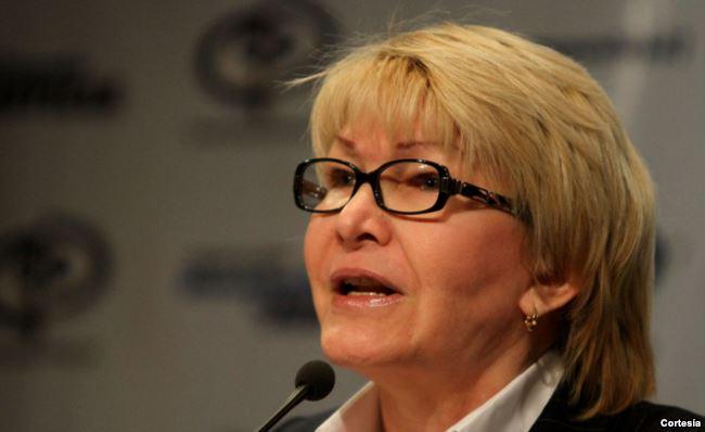 Luisa Ortega retó la anterior semana a Maduro a dejar sin efecto la constituyente