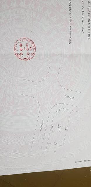 Góc đường D8 N16 – TĐC Phú Mỹ, TP.Thủ Dầu Một, Bình Dương