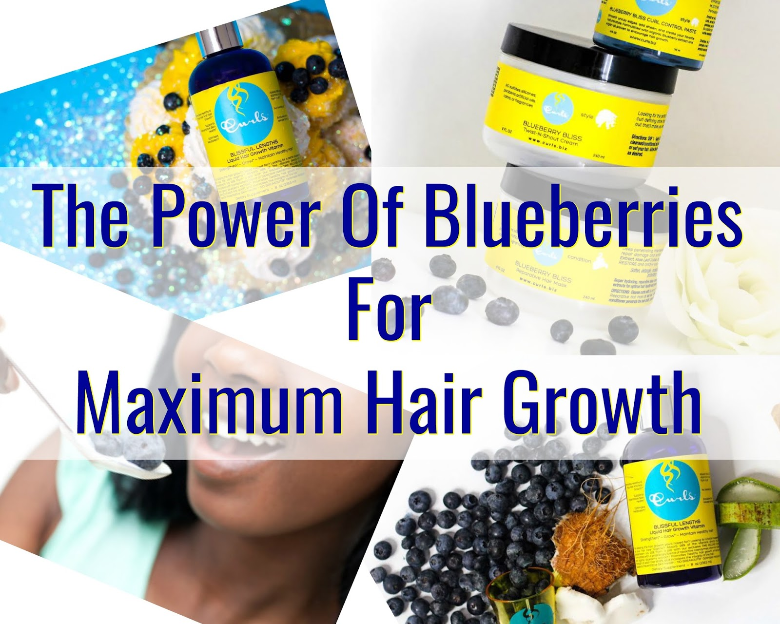 Click here to buy Curls Blueberry Bliss Hair Wash, Leave-in Conditioner & Curl Control Paste Combo to get the best of blueberries for your hair!