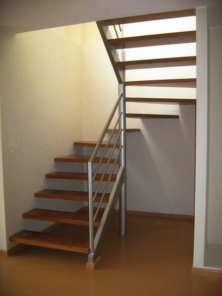 Carpinteria metalica escaleras for Como construir una escalera metalica