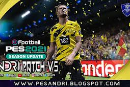 Andri Patch V5 AIO (Fully Licenced Team Liga Shopee 1) - PES 2021 PC
