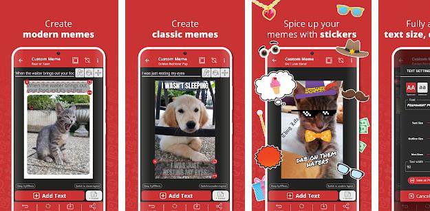 Meme Generator - Μία Android εφαρμογή για δημιουργία memes με άπειρες δυνατότητες