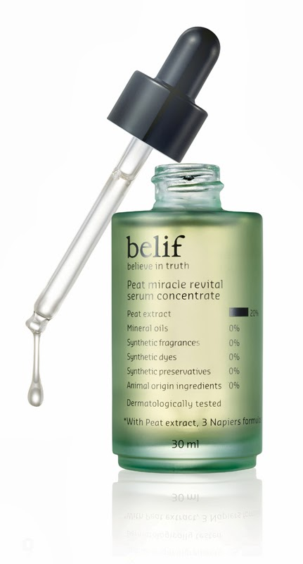 belif New Peat Miracle Revital Serum Concentrate
