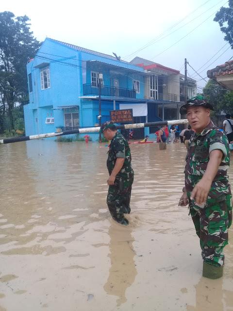 Jatiasih Terendam Banjir