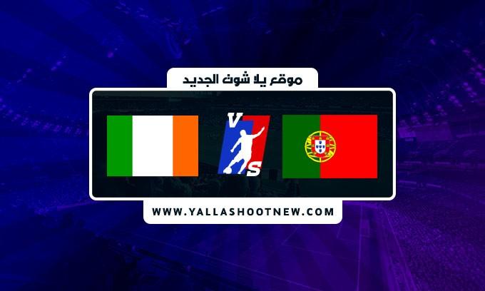 نتيجة مباراة البرتغال وايرلندا اليوم في تصفيات كأس العالم أوروبا