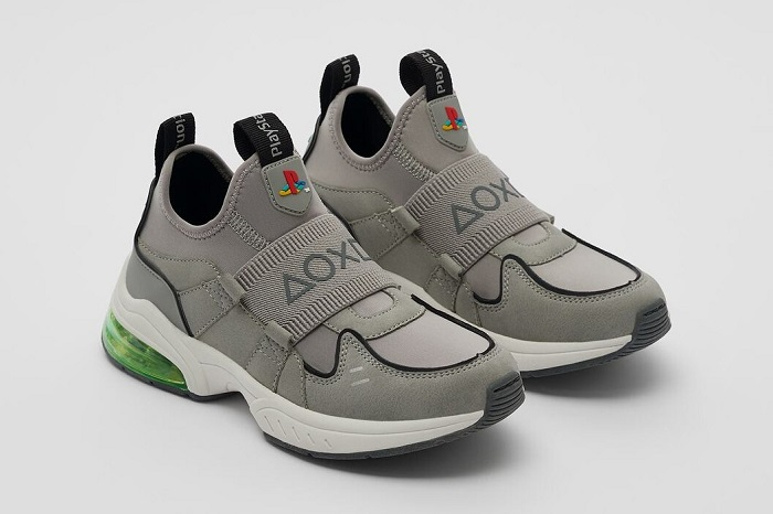 Sony PlayStation x Zara Sneakers For The Gamer In You