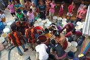 Satuan Pelajar Mahasiswa 'SAPMA' Pemuda Pancasila Berikan Bantuan Air Bersih di Wonosegoro