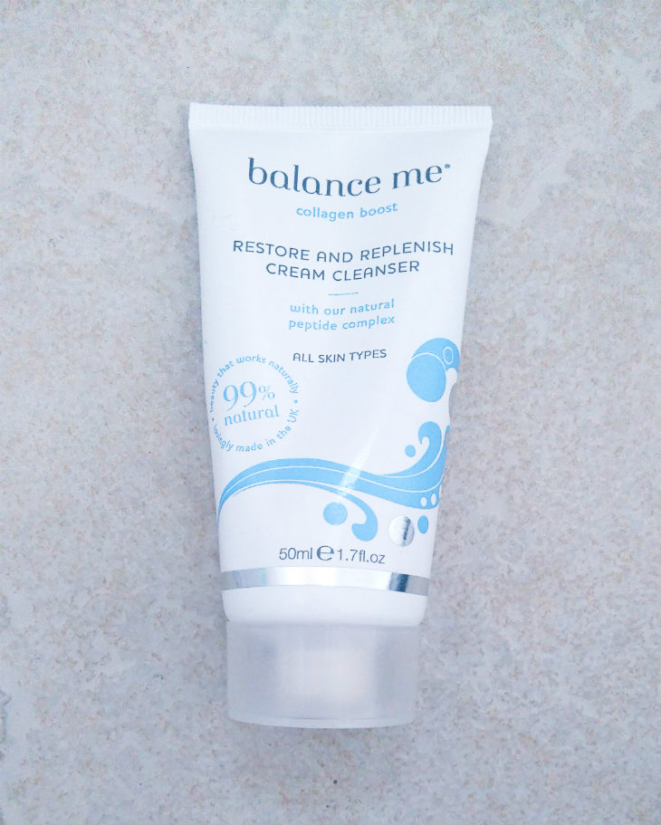 Balance Me Restore and Replenish Cream Cleanser