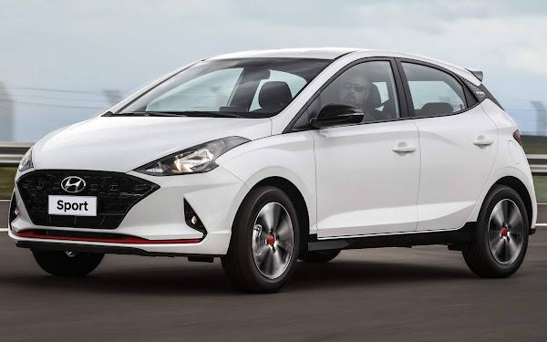 Os carros mais vendidos em fevereiro de 2021