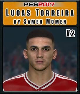 PES 2017 Faces Lucas Torreira by Sameh Momen