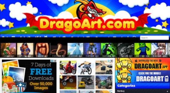 Situs Penyedia Vector Gratis Dragon Art