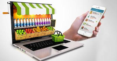 El auge de las compras online de productos y comida