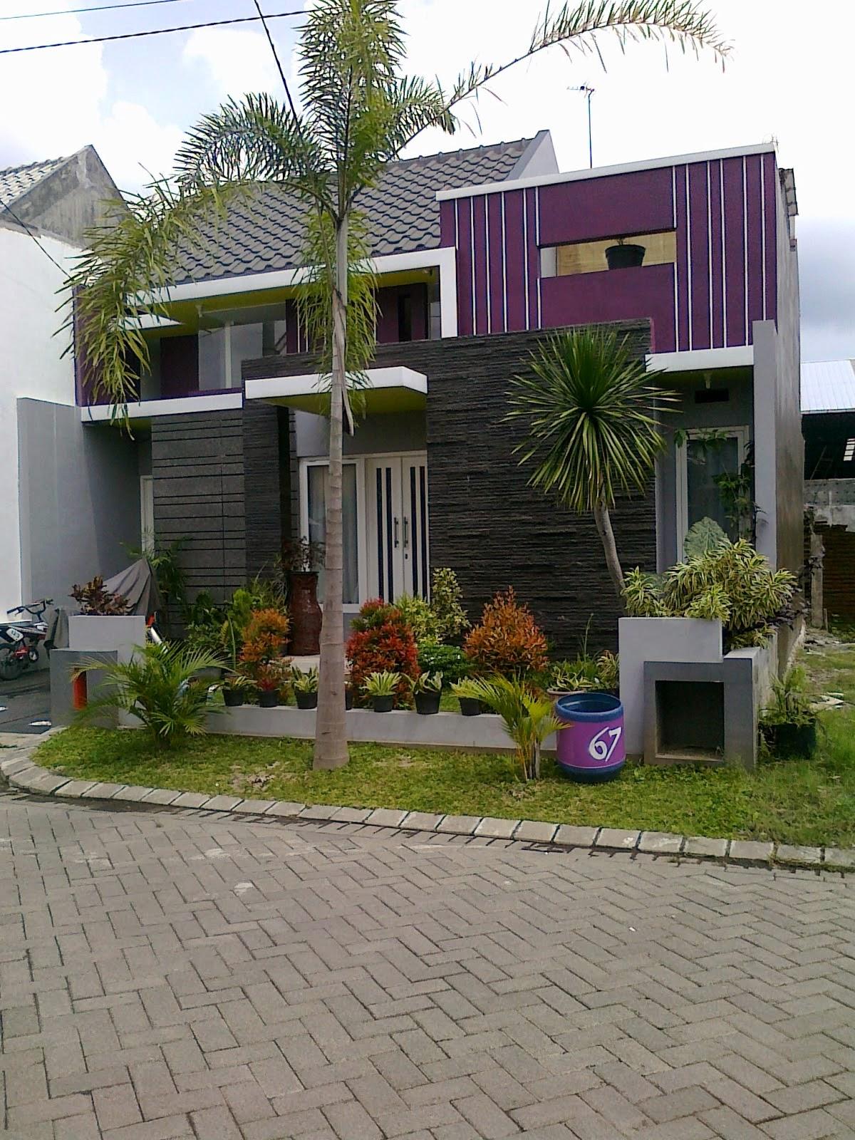 Top Contoh Pagar Rumah Minimalis Cluster Gubukhome