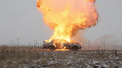 Burning Car Permission