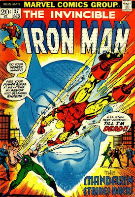 Iron Man #57, the Mandarin