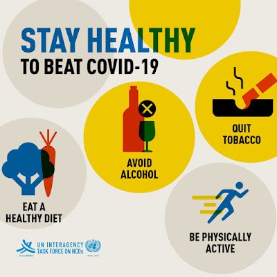 UN Stay healthy during COVID