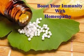 BOOST YOUR IMMUNITY WITH HOMEOPATHY