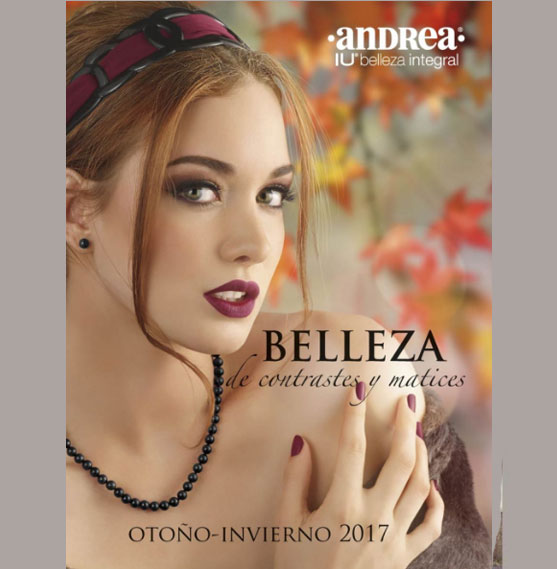 Catalogo IU belleza integral  Andrea Otoño invierno 2017