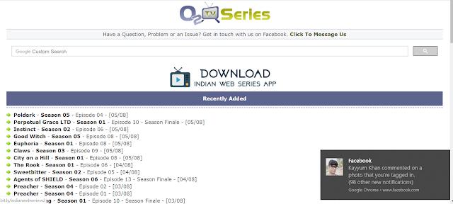o2tvseries Download Indian Web Series
