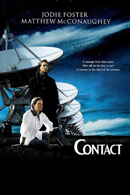 Posterul filmului Contact cu jodie foster