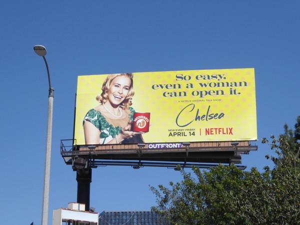 Chelsea season 2 Can of worms billboard