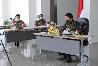 Gubernur Arinal Ikuti Rakor Pengendalian Transportasi Idul Fitri Bersama Menhub Budi Karya Sumadi dan Kasatgas Covid-19 Doni Monardo