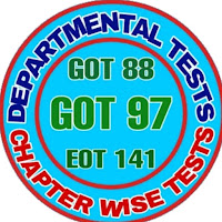 Departmental Tests App - AP Departmental Tests App - Chapter wise tests App   Education Department Employees related to GOT 88 GOT 97 and EOT 141  This App is Useful to the Education Department Employees who were appearing for GOT 88 , GOT 97 and EOT 141 Examinations.  Download.... Mobile App