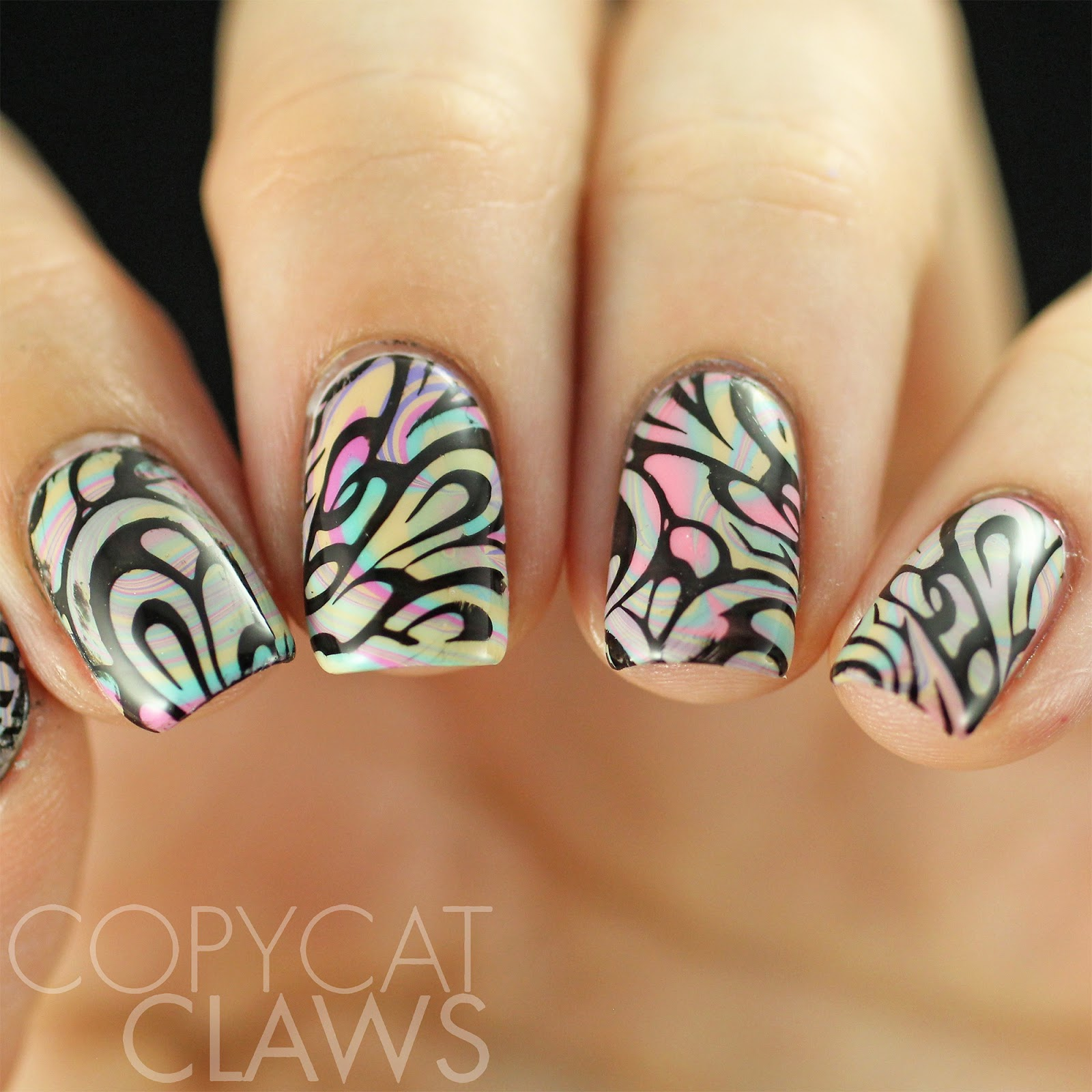 Copycat claws 40 great nail art ideas nude color prinsesfo Images