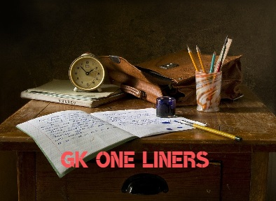 Gk One Liners Questions Answers